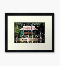 Ho Chi Minh House Framed Print
