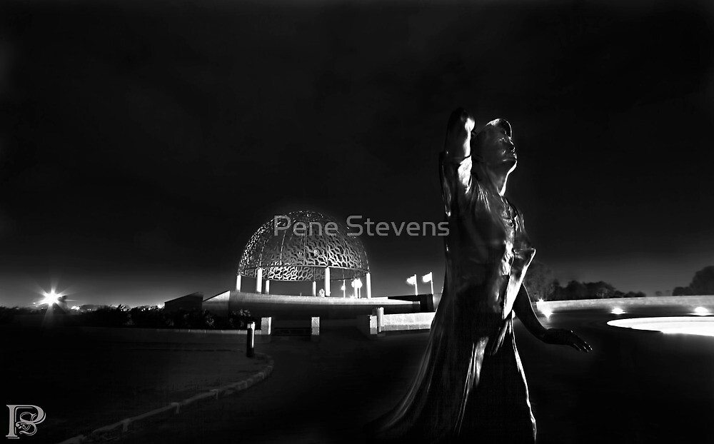 The Waiting Woman & Dome of Souls  by Pene Stevens