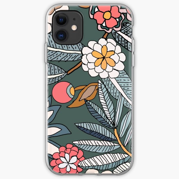 Vera Bradley inspired Tropical Evening Pattern iPhone Soft Case