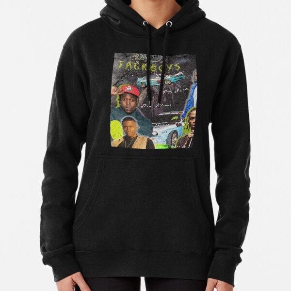 Jackboys Vintage Collage T-Shirt Hoodie