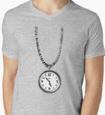 Wear your clock like Flavour Flav T-Shirt mit V-Ausschnitt für Männer