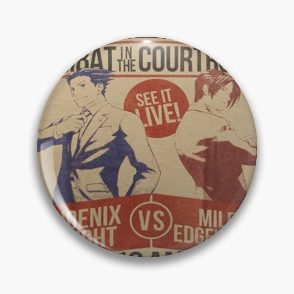 Ace Attorney - Combat in the Courtroom Pin