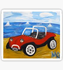 dune buggy summer Sticker