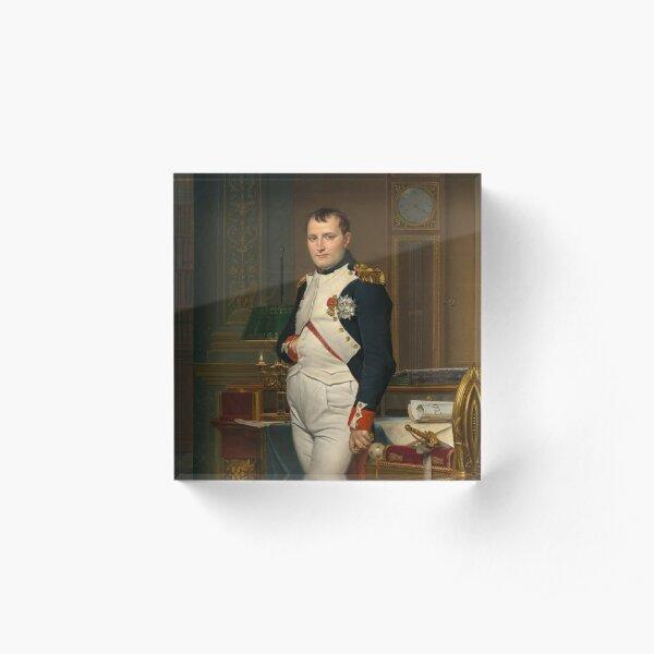Emperor Napoleon in His Study at the Tuileries  Acrylic Block
