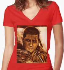 Mad Max : Fury Road Women's Fitted V-Neck T-Shirt