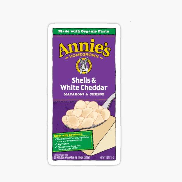 Annie's Shells and White Cheddar Sticker