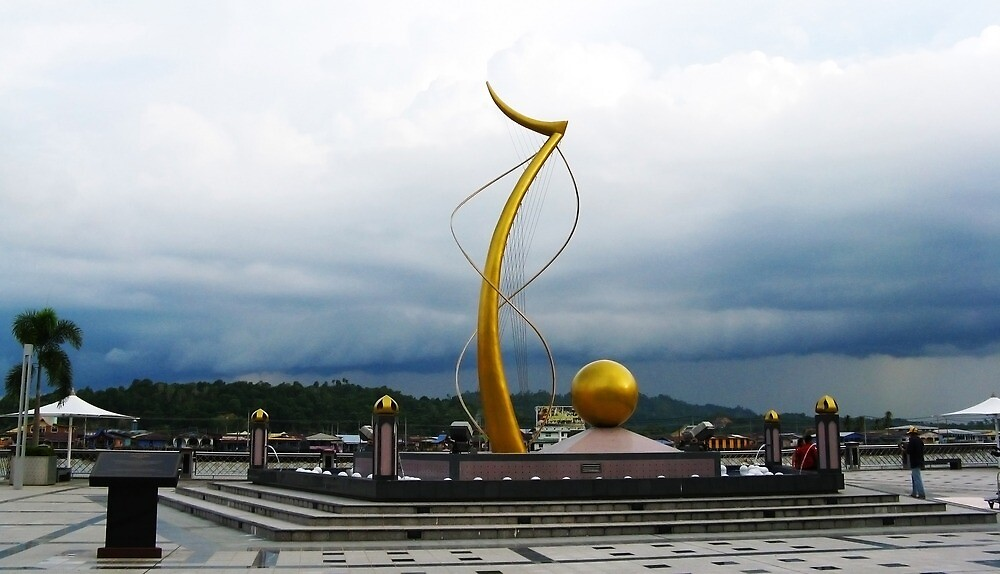 Waterfront Sculpture, Brunei by AlisonOneL