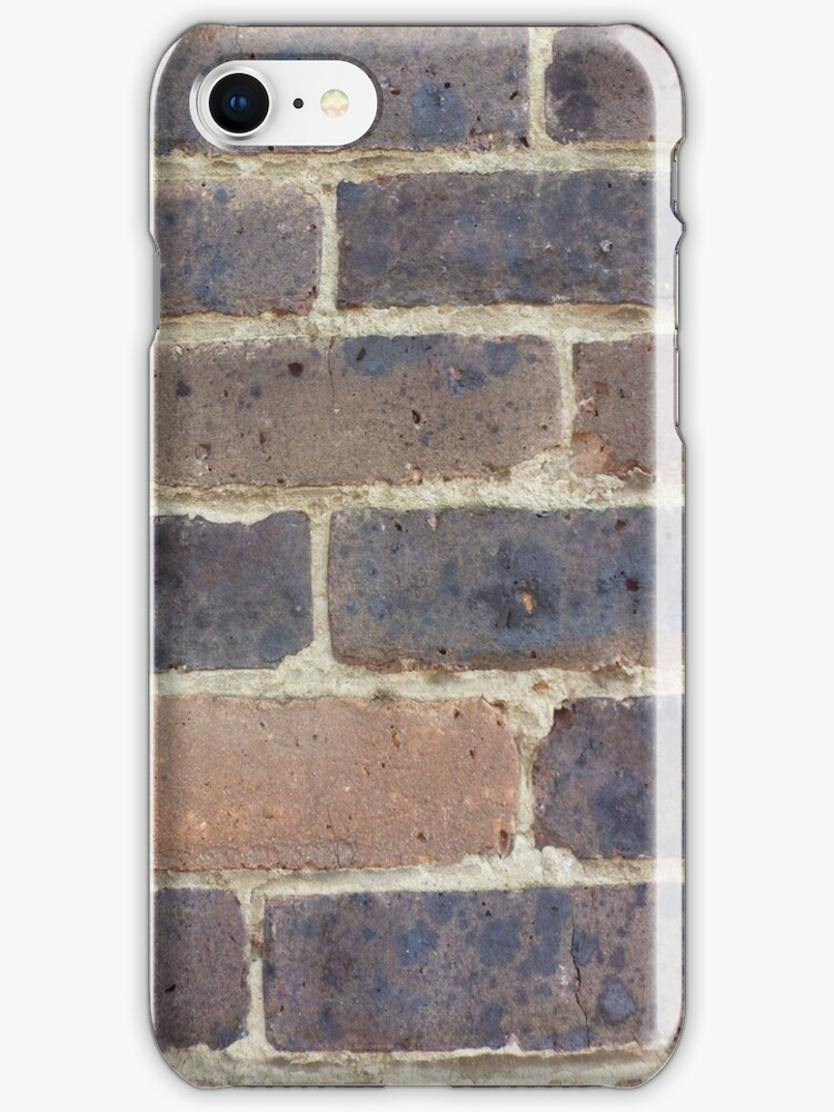 Brick iPhone case by jredbubble
