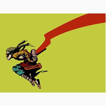 Drifter Leap Yellow by ScribbleImp