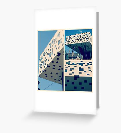 Punch Card Retro Greeting Card