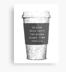 Beckett's Coffee Metal Print