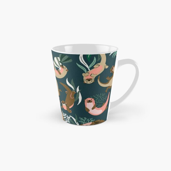 Otter Collection - Teal Palette Tall Mug