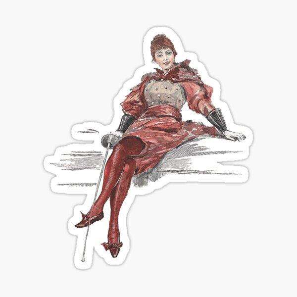 Keeping swordplay classy Sticker