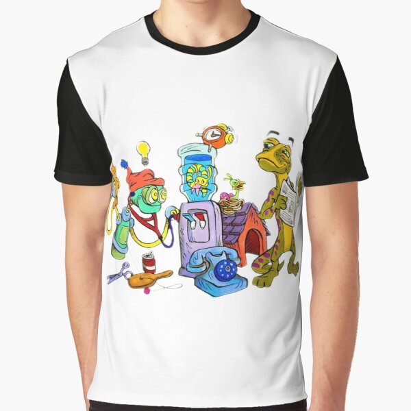 TonyToons Peg-IE Spaghetti's Big Idea Graphic T-Shirt