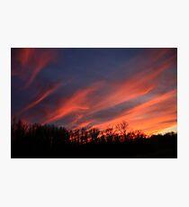 Streaking Across The Sky Photographic Print