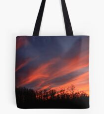 Streaking Across The Sky Tote Bag