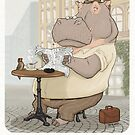 Mr. L'Hippopotame by stieven