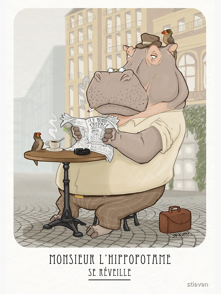 Mr. L'Hippopotame by stieven