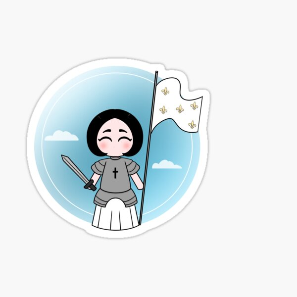 Saint Joan of Arc (Little Saint) Sticker