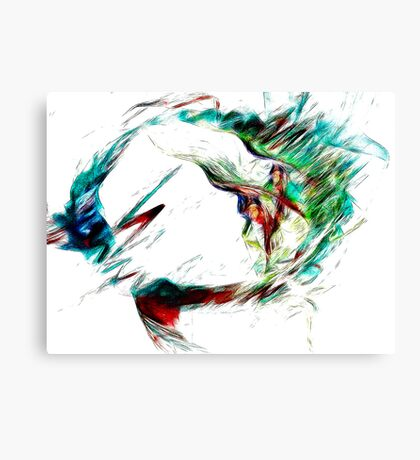 Becoming Modesty Canvas Print