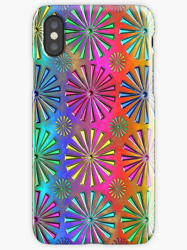 Neon Snowflakes by Delights