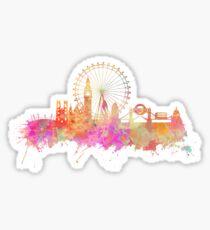 London skyline underground Sticker