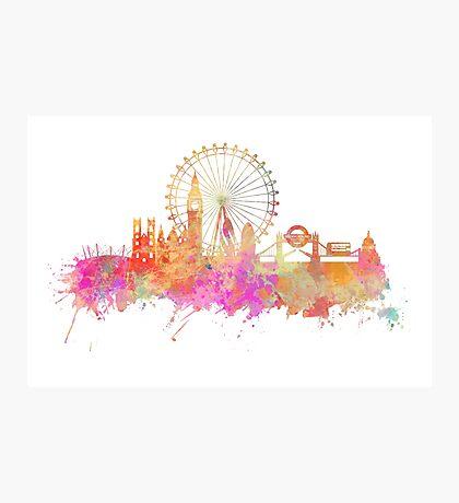 London skyline underground Photographic Print