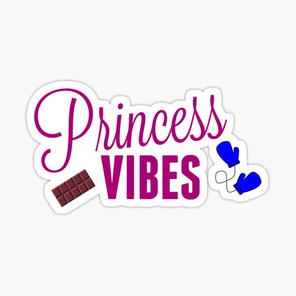 Princess Vibes - Snow Sister Sticker