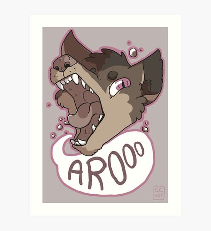 Arooo Art Print