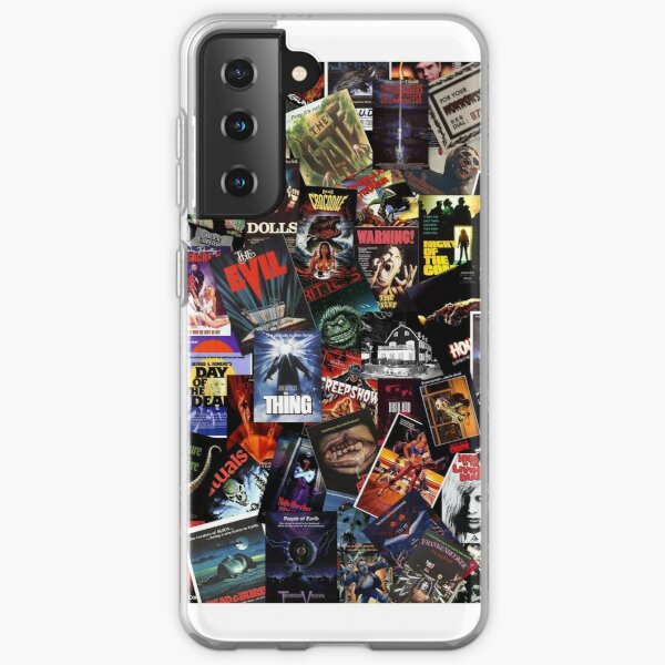 80's Horror movies Samsung Galaxy Soft Case