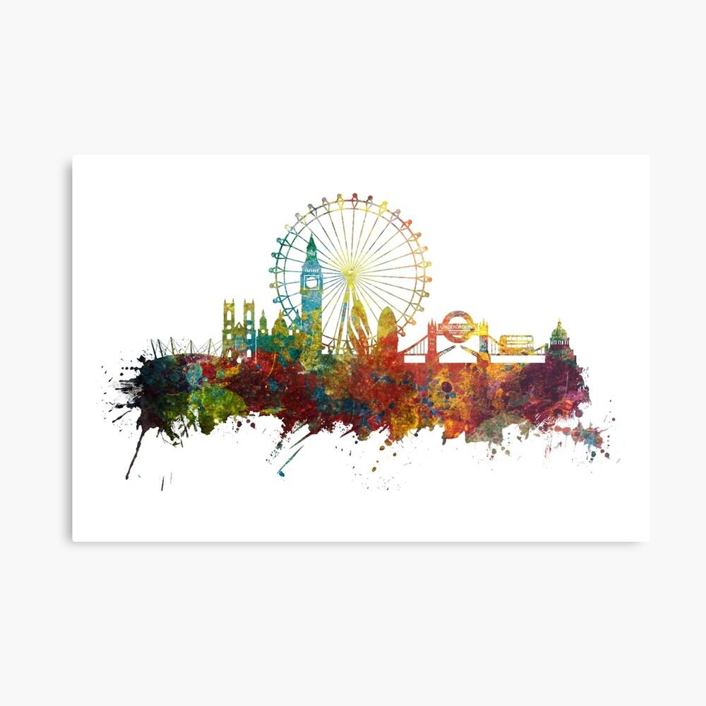 London Skyline England Metal Print