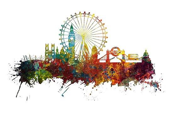 London Skyline England by JBJart