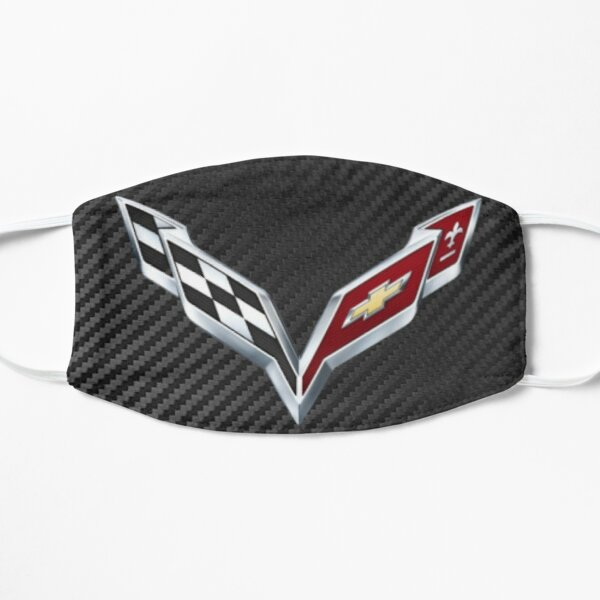 Corvette Carbon Fiber Logo Mask