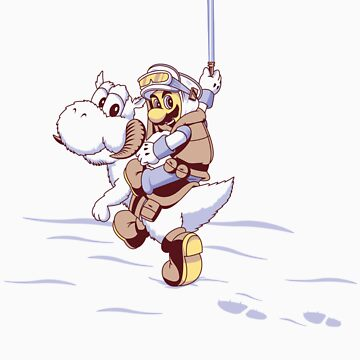 Super Mario Tauntaun Land by RavishingRyan