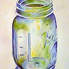 Ball Mason Jar by Loretta Nash