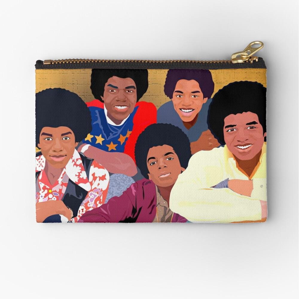 The Jackson 5ive Zipper Pouch