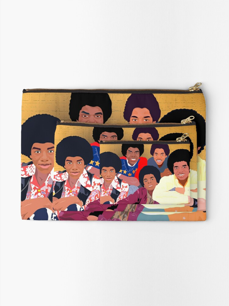 Alternate view of The Jackson 5ive Zipper Pouch