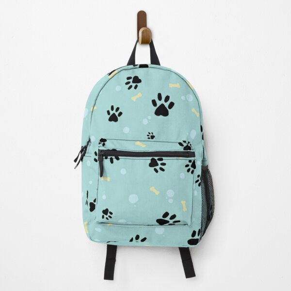 Puppy pawprint pattern Backpack
