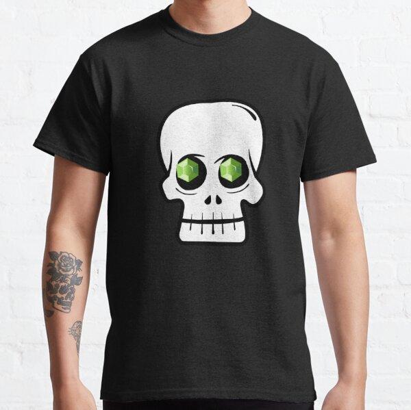 Demi-Lich Crystal Skull Classic T-Shirt