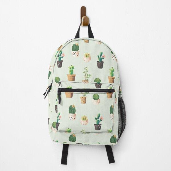 Cactus Floral Design Backpack