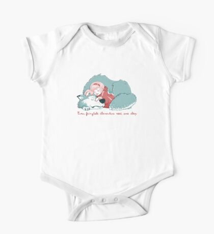 Red sleeping Kids Clothes