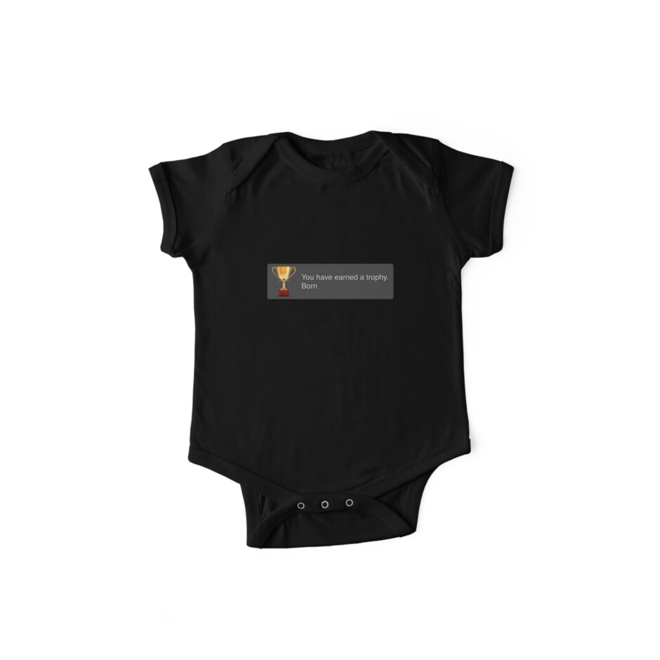 PS3 Trophy - Born by shirtypants