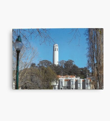 Coit Tower Canvas Print