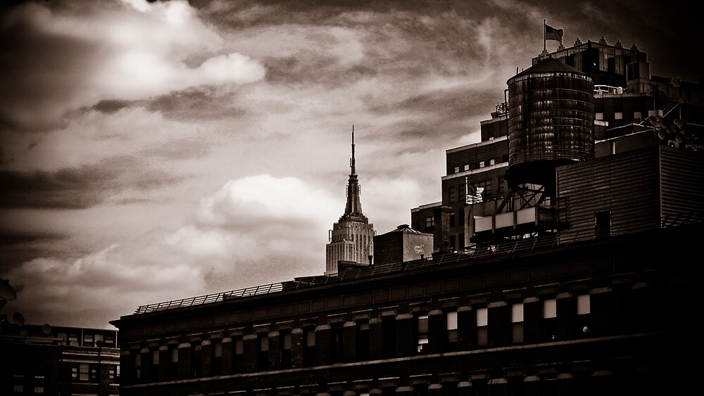 Empire State Peek-a-boo by pixog