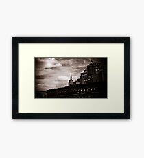 Empire State Peek-a-boo Framed Print