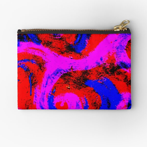 SWIRL IT Zipper Pouch