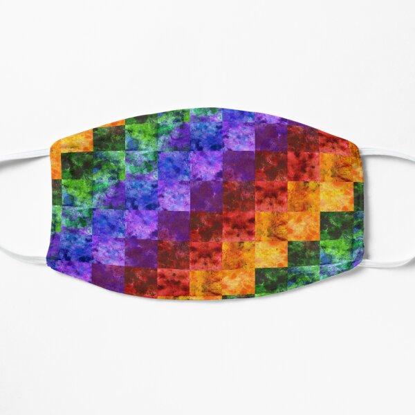 Rainbow Spectrum Quilt Flat Mask