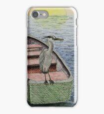 Great Blue Heron iPhone Case/Skin