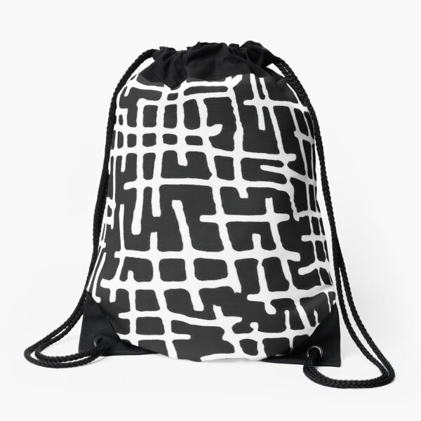 INNER MAP Drawstring Bag