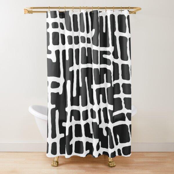INNER MAP Shower Curtain